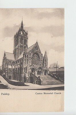 Coates Memorial Church, Paisley, Renfrewshire