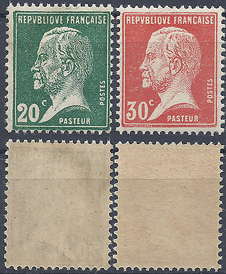 France Pasteur N°172/173 1923/1926 Neuf ** Luxe Mnh