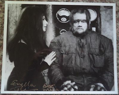 Carry On Screaming 1966 Rare Photo Hand Signed By Fenella Fielding