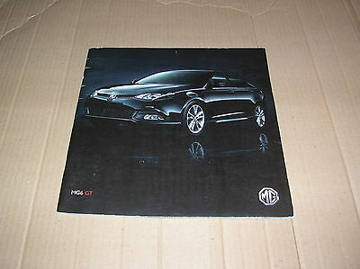 MG 6 GT original colour sales brochure