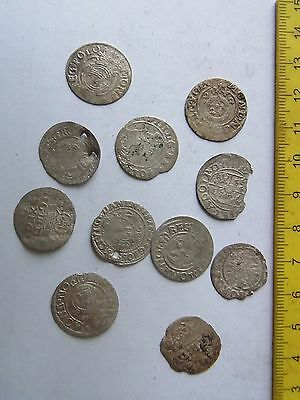 Many Medieval European SILVER Coins