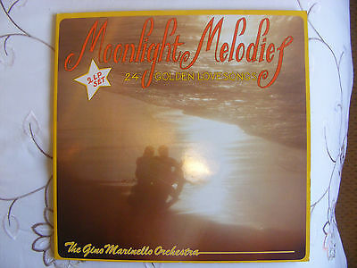Moonlight Melodies. The Gino Marinello Orchestra.vinyl Double Lp. (12146)