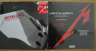 """Metallica, Lords Of Summer, NEW/MINT Ltd edition one sided 12"""" vinyl single BF14"""