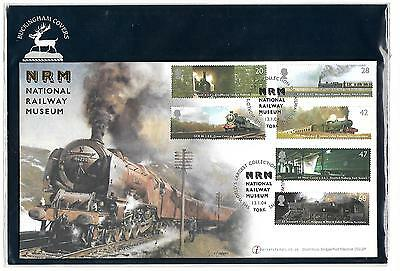 Gb Fabulous 2004 National Railway Museum Internet Stamps Fdc Original Packaging
