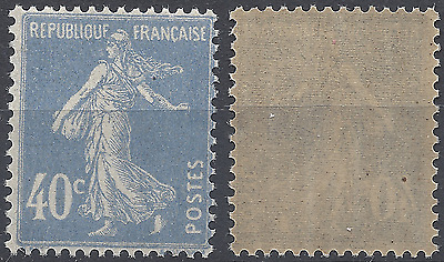 France Timbre Type Semeuse N°237 Neuf ** Luxe Gomme D'origine Mnh