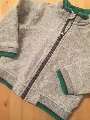 Armani Baby Boys Zip Up Jumper/jacket age 9 months (6-9months)