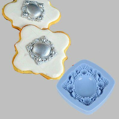 3D Silicone Mold Vintage Brooch Fondant Cake Decorating Tools Cookie Chocolate