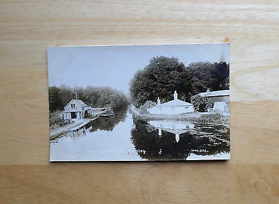 Basingstoke Canal, Frimley - RP posted 1917 (WHA)