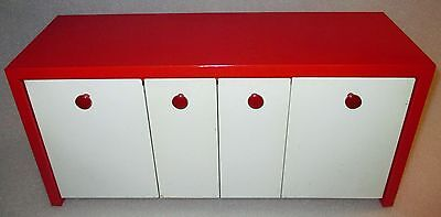 1950 EMCO Binister Counter or Wall Mount Steel Kitchen Canister Storage Bins
