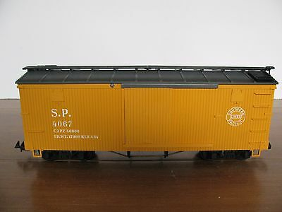 Vintage LGB G Scale Yellow S.P. Southern Pacific Box Car #4067 VG