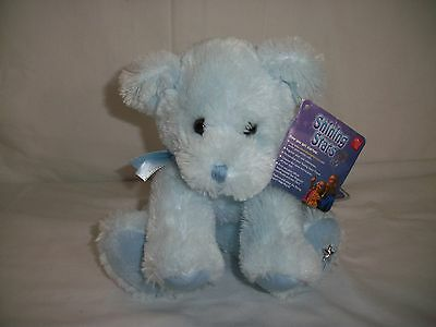 Russ Shining Star Offical Star Naming Baby Blue Puppy Dog Sealed Tag & Code Nwt