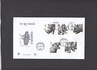 2006 Ice Age Animals Stuart FDC with Deerpark CDS