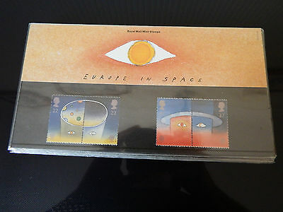 Qe2 Superb  1991 Space Europa  Presentation Pack In Mint Condition