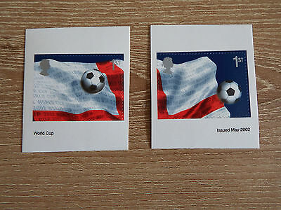 2293-94 2002 World Cup S/a Ex Booklet  In Mint Condition