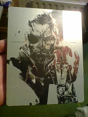 Rare METAL GEAR SOLID V Steelbook Case (Game not included) SEALED/BRAND NEW