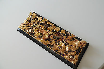 CHINA Antik Holzschnitzerei ANTIQUE CHINESE CARVED WOOD PANEL