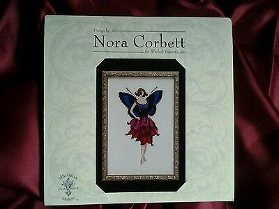 "NEW Nora Corbett ""Anemone"" Pixie Blossoms Collection Cross Stitch Chart"