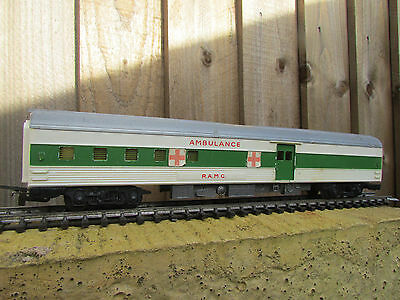 Hornby Triang Ambulance Coach/carriage,battlespace Army