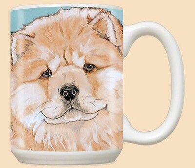 15 oz. Ceramic Mug (PS) - Chow Chow MU819