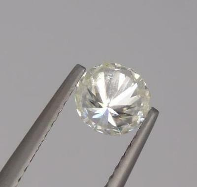 **0.50Ct Loose Genuine Moissanite Round Cut Gemstone (17799)***