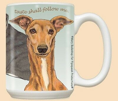 15 oz. Ceramic Mug (PS) - Greyhound MU518