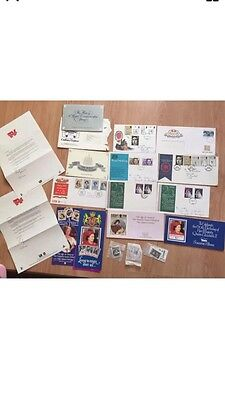 Job Lot of First Day Cover Stamps  1970s-1980s Royal Wedding Prince Charles Ann