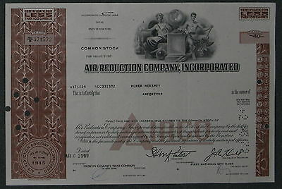 Air Reduction Company, Incorporated 1969  40 Shares