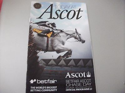 Sprinter Sacre Race Card, 5Th Uk Race - Ascot, 19Th February, 2011, Ascot Chase