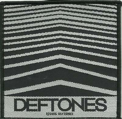 DEFTONES abstract lines 2016 - WOVEN SEW ON PATCH official merchandise