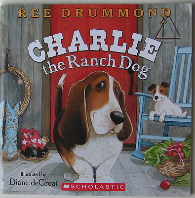 Basset Hound Illustrated Story  Charlie The Ranch Dog