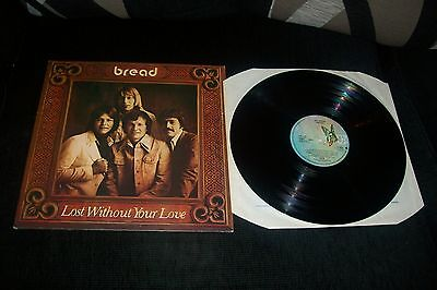 Bread Lost Without Your Love Lp Record Uk Original First Press A1-B1 David Gates