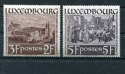 Luxemburg Nr. 313 - 314 ** Willibrord