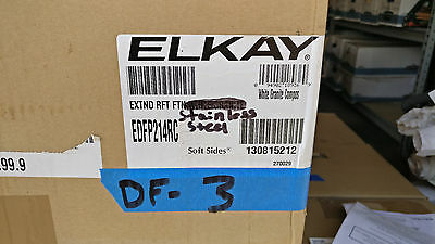 Elkay EDFP214RC Stainless Steel Wall-Mount Drinking Fountain