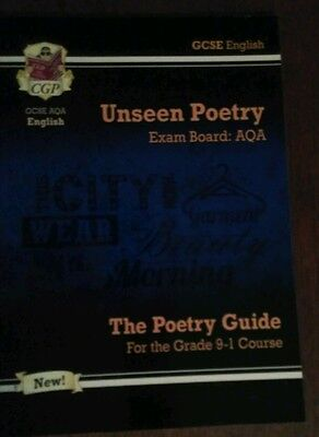 New GCSE English Literature AQA Unseen Poetry - Grade 9-1 Course, 2017 onwards
