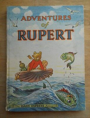Rupert The Bear annual 1950, no writing, full spine, never had a price!, non-PC