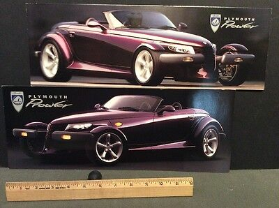 Plymouth 1997 Prowler Only Brochure Dlx Fl Lot Of 13 Mint