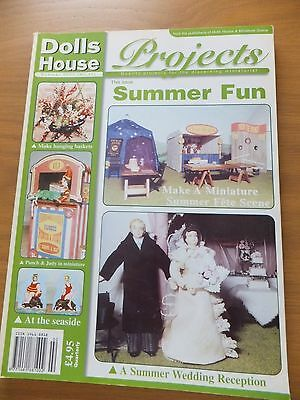 Dolls House Projects Magazine No 11 SUMMER FUN