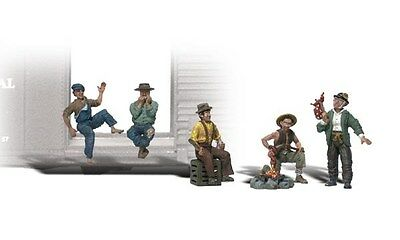 Woodland Scenics / SCENIC ACCENTS #2734 O SCALE - HOBOS - NEW A2734