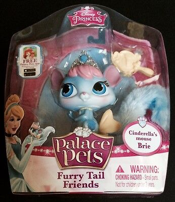 Disney Princess Palace Pets Furry Tail Friends Cinderella's Mouse Brie New