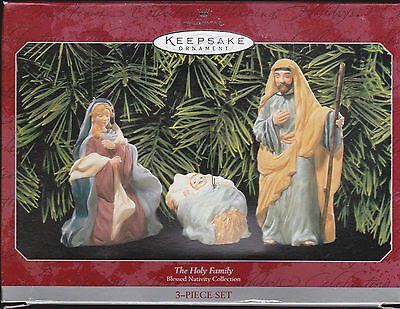 1998 Hallmark Keepsake Ornament The Holy Family Blessed Nativity Collection  MIB