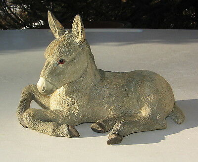 A Breed Apart  Donkey Foal Lying Figurine Country Atrists 2007