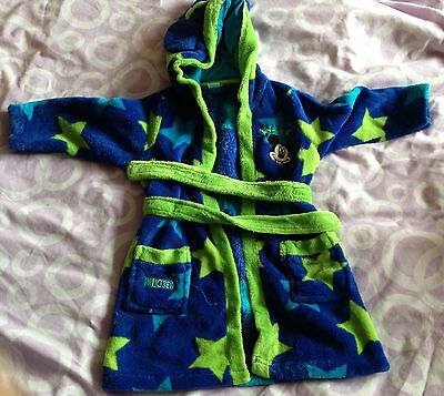 Boys 12-18 Months Disney Mickey Mouse Dressing Gown