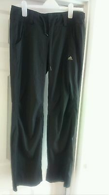 adidas 12 climalite black trousers tracksuit bottoms running gym