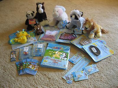 Webkinz HUGE LOT Charm Clothing Zumbuddy EASTER  20+ pcs WITH CODES All New!
