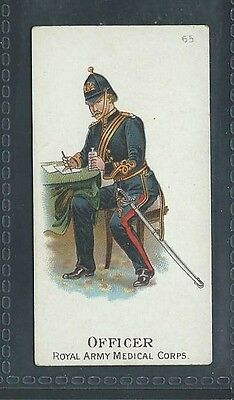 Gallaher Types Of The British Army Three Pipes Brown No 65 Royal Army Medical