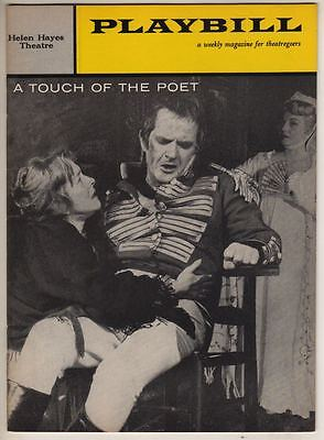 """""""A Touch Of The Poet""""  Playbill 1959  Helen Hayes, Eric Portman, Betty Field"""
