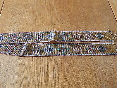Antique Length of Victorian Bead Work.