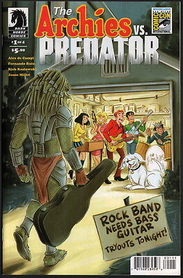 ARCHIE VS PREDATOR #1 San Diego Comic Con SDCC Exclusive Variant Cover