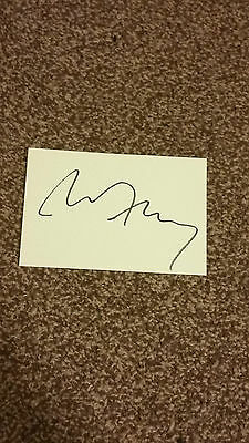 Bryan Ferry - Hand Signed Autographed 6x4 White Card - Rare Item