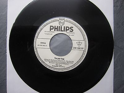 "7"" RITA PAUL  Ta-pa-tap  PROMO - PHILIPS 345 358"